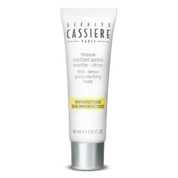 Masque clarifiant pureté menthe-citron - Bernard Cassière
